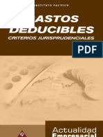 Gastos Deducibles - Criterios Jurisprudenciales