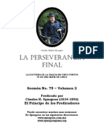 Copia de La Perseverancia Final Spurgeon