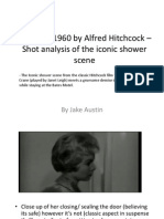 Psycho Powerpoint Shoit Analysis Shower Scene