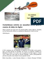Corinthians estréia no mundial nesta quarta contra Al Ahly do Egito
