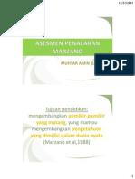 Asesmen Penalaran Marzano