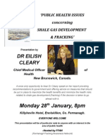 Cleary Fermanagh Poster 28.01.2013