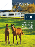 2013 Lexington Visitors Planning Guide