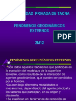 Geodinamica y Cimentaciones