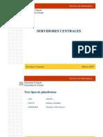 Servidores Centrales PDF