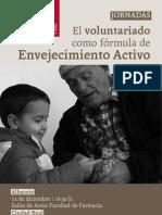El voluntariado como forma de envejecimiento activo