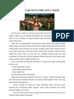 Budaya Tari Mung Dhe Jawa Timur