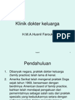 Klinik dokter keluarga
