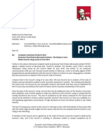 20121212 KFCB - To Media Council Re Unenforced Ruling v Workers Voice