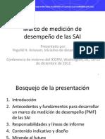 SAI Performance Measurement Framework - Rationale, Process and Indicative Content, Yngvild Arnesen (Espanol)