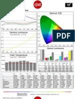 Sharp LC-60LE847U CNET review calibration results