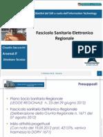 06 - Claudio Saccavini - Fascicolo Sanitario Elettronico Regionale