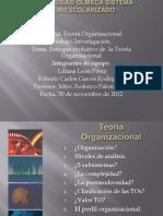 teoria organizacional presentacion