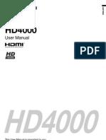Manual Hd4000