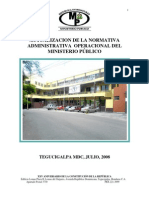 Reglamentos del Ministerio Publico de Honduras