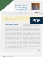 [Chapter 73] Carpal Tunnel, Ulnar Tunnel, And Stenosing Tenosynovitis