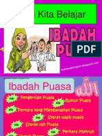 Power Point tentang Ibadah Puasa