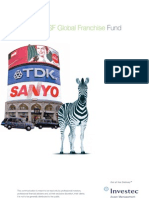 Global Franchise Fund Brochure