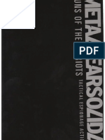 Metal Gear Solid 4 Artbook