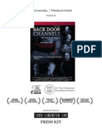 Press Kit for Back Door Channels:The Price of Peace