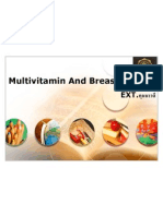Multivitamin and Breast Cancer