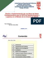 Diseno e Implementacion Base Datos Abastecimiento y Logistica
