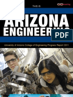 University of Arizona College of Engineering Research Progress Report 2011