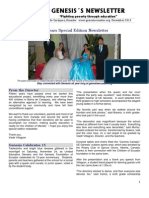 genesis´s newsletter