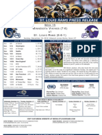 Week 15 - Rams vs. Vikings