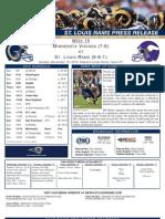 Week 15 - Rams vs. Vikings
