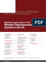 51332 Wireless Telecommunications Carriers in the US Industry Report