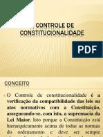 o Controle de Constitucionalidade Pppp