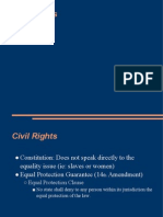 POL 111 29 Civil Rights