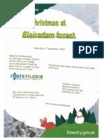 Christmas Poster Blairadam