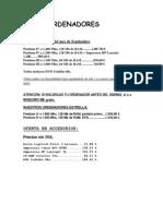 formato de fuente y tabulación