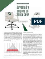 Juventud y empleo en Santa Cruz