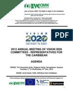 2012 Caribbean V2020 Regional Meeting
