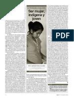 La triada de la exclusión Ser Mujer, indígena y joven