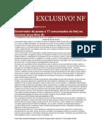 05.11 Portal Jornal Exclusivo!  - Governador dá posse a 77 concursados do Iterj na próxima terça