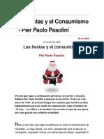 PASOLINI Las Fiestas y El Consumismo