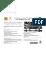 La tutela dell'architettura moderna e contemporanea 17 dicembre 2012, ore 16:00 - Complesso Monumentale di S. Sofia, Salerno