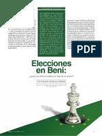 Elecciones en Beni