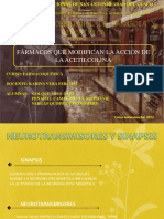 Farmacos Que Modifican a La Acetilcolina [Reparado]