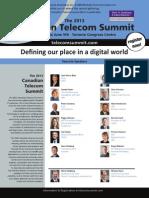 The 2013 Canadian Telecom Summit