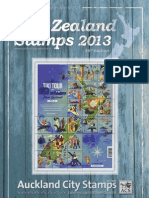 ACS NZ Stamp Catalogue 2013