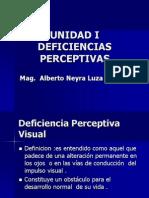 II(Neo) Unidad Deficiencias Perceptivas