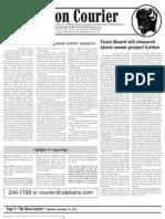 Bison Courier, December 13, 2012