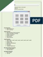 Visual Basic Os and Xs