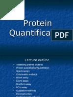 Protein Quantification