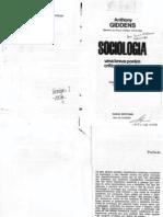 Anth'ony Giddens Sociologia Uma Breve Porém Crítica Introdução